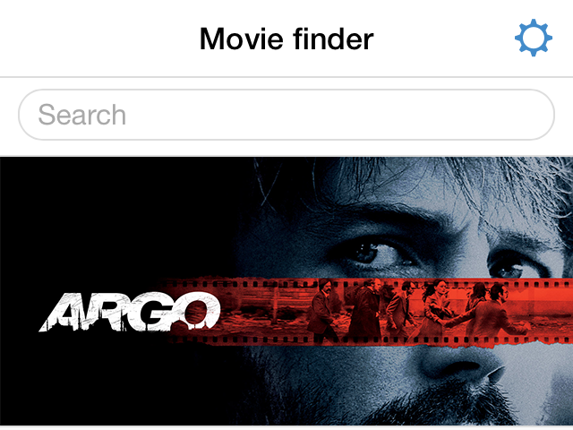Movie finder app example